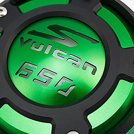 XX ecommerce Moto Tapa de la cubierta del filtro de aceite del motor CNC para K-a-w-a-s-a-k-i Ninja 400 650 VN650 Z650 ER-4F Negro