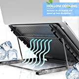 Laptop Tablet Stand, Foldable Portable Ventilated
