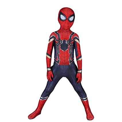Amazon.com: Childrens Spider-Man Cosplay Costume Siamese ...