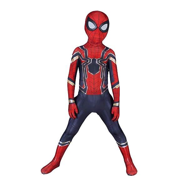 Amazon.com: Childrens Spider-Man Cosplay Costume Siamese ...