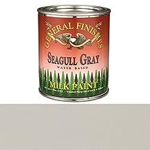 General Finishes PSGG Milk Paint, 1 pint, Seagull Gray