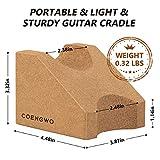 COENGWO Guitar Neck Rest, Guitar Stand Cork