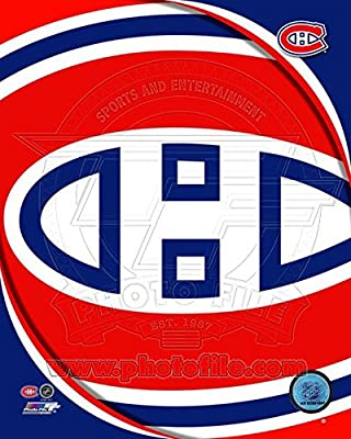 Montreal Canadiens 2011 Team Logo Photo 8 x 10in