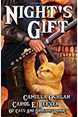 Night's Gift (Of Cats And Dragons) Paperback