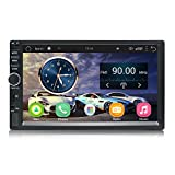 Super Android Car Radio Stereo Double Din 7 inch Capacitive Touch Screen High Definition 1024x600 GPS Navigation 2USB Port+1TF Slot MP5 Player WIFI BT AM/FM | SP011