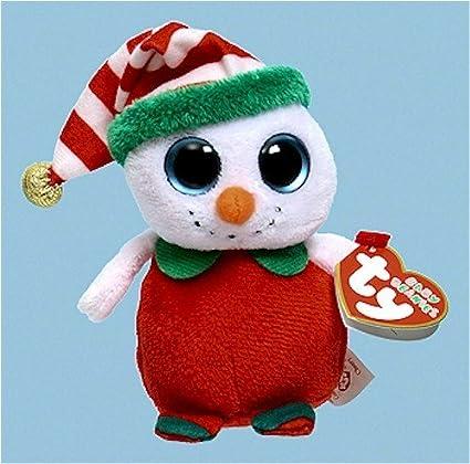 Amazon.com  Ty Baby Beanies Cheery - Snowman  Toys   Games 220352c3f09c