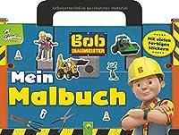 Bob der Baumeister Mein Malbuch mit Stickern: Taschenmalbuch mit Tragegriff