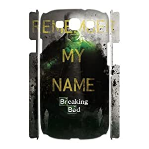 WJHSSB Breaking bad Customized Hard 3D Case For Samsung Galaxy S3 I9300