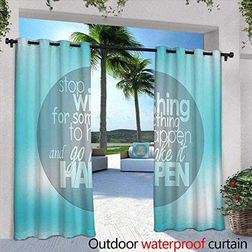 Outdoor Balcony Privacy Curtain,Monochrome Seamless Pattern with Playing Cats Repeating Cats Background for Textile, Wrapping Paper, Wallpaper, Scrapbooking,W72 x L108 for Patio Light Block Heat Out