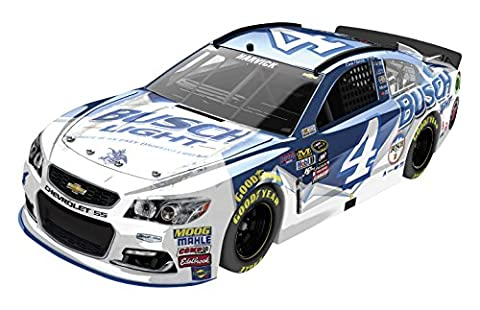 Lionel Racing Kevin Harvick #4 Busch Light 2016 Chevrolet SS NASCAR Diecast Car (1:24 Scale), Chrome