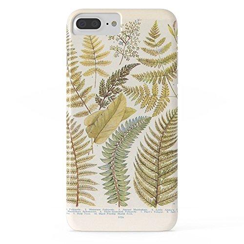 Roses Garden Phone Case Protectivedesign Cell Case Vinatge Fern Illustration Slim Case iPhone 7 Plus