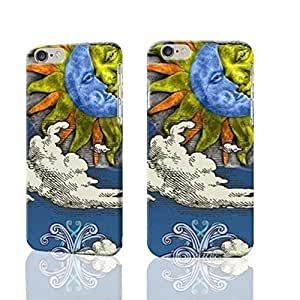 """Sun And Moon Celestial 3D Rough iphone 6 -4.7 inches Case Skin, fashion design image custom iPhone 6 - 4.7 inches , durable iphone 6 hard 3D case cover for iphone 6 (4.7""""), Case New Design By Codystore by ruishername"""
