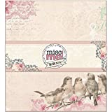 Bo Bunny-Misc Me Binder: Madeleine. The perfect binder for showcasing your memories! This package contains one 9x8 inch binder. Imported.