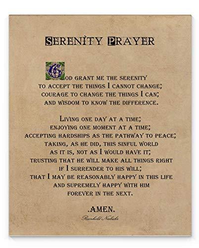 - Serenity Prayer Wall Decor, 11