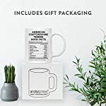 Andaz Press Funny Dog Lover's 11oz. Ceramic Coffee Mug Gift, American Staffordshire Terrier Nutritional Facts, 1-Pack, Dog Mom Dad Birthday Christmas Ideas 9