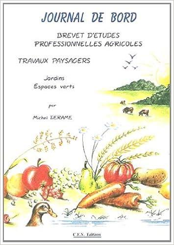 Téléchargement Journal de bord BEPA : Pépinières / Cultures fruitières pdf, epub ebook