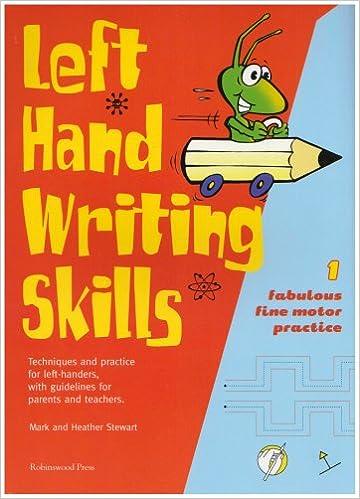Left Hand Writing Skills: Book 1: Fabulous Fine Motor Practice (bk ...
