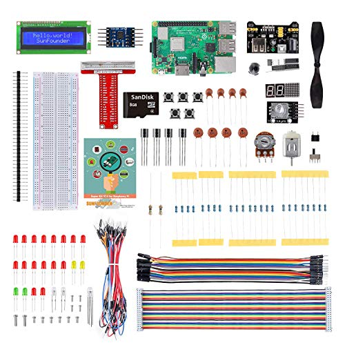 SunFounder Raspberry Pi 3 Model B+ Starter Kit