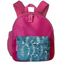 Watercolor Leaves Small Durable Book Kid' Bag For Boy School Backpacks