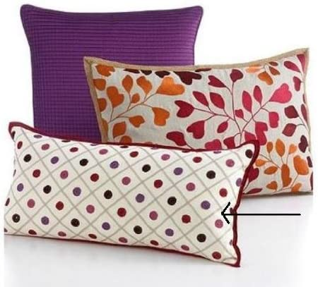 Martha Stewart Collection, Multi Dot 12 x 24 Decorative Pillow