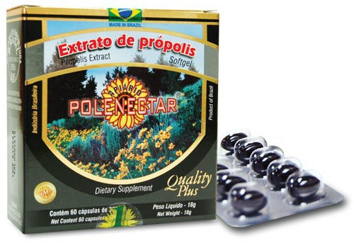 Polenectar Brazil Green Bee Propolis 60 Softgels