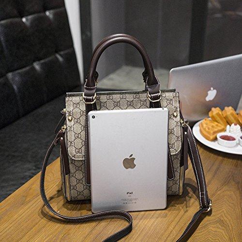 LEODIKA Hombro simple bolsa nueva de la manera de visita de moda del bolso de la cartera, la versión coreana, las mujeres imprimieron la taleguilla, de gran capacidad bolso de las mujeres. Gd Coffees