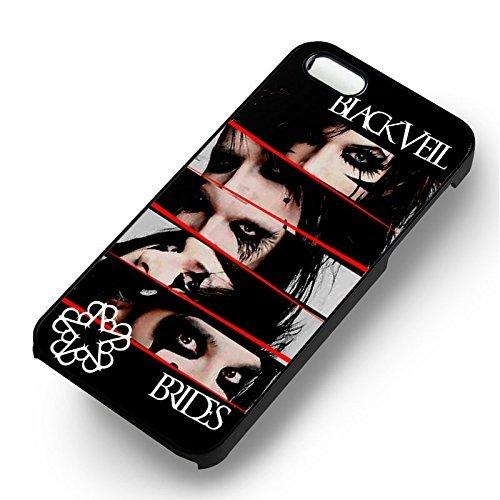 Noir Veil Brides pour Coque Iphone 6 et Coque Iphone 6s Case (Noir Boîtier en plastique dur) D3O9XH