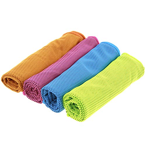 koulaoxiang Chill Pal Microfiber Cooling Towel,for Sports, Gym, Yoga, Travel, Camping,Cooling Towel, Workout, Fitness, Pilates, Instant Relief Cooling Towel, Ice Towel, Ice Towel