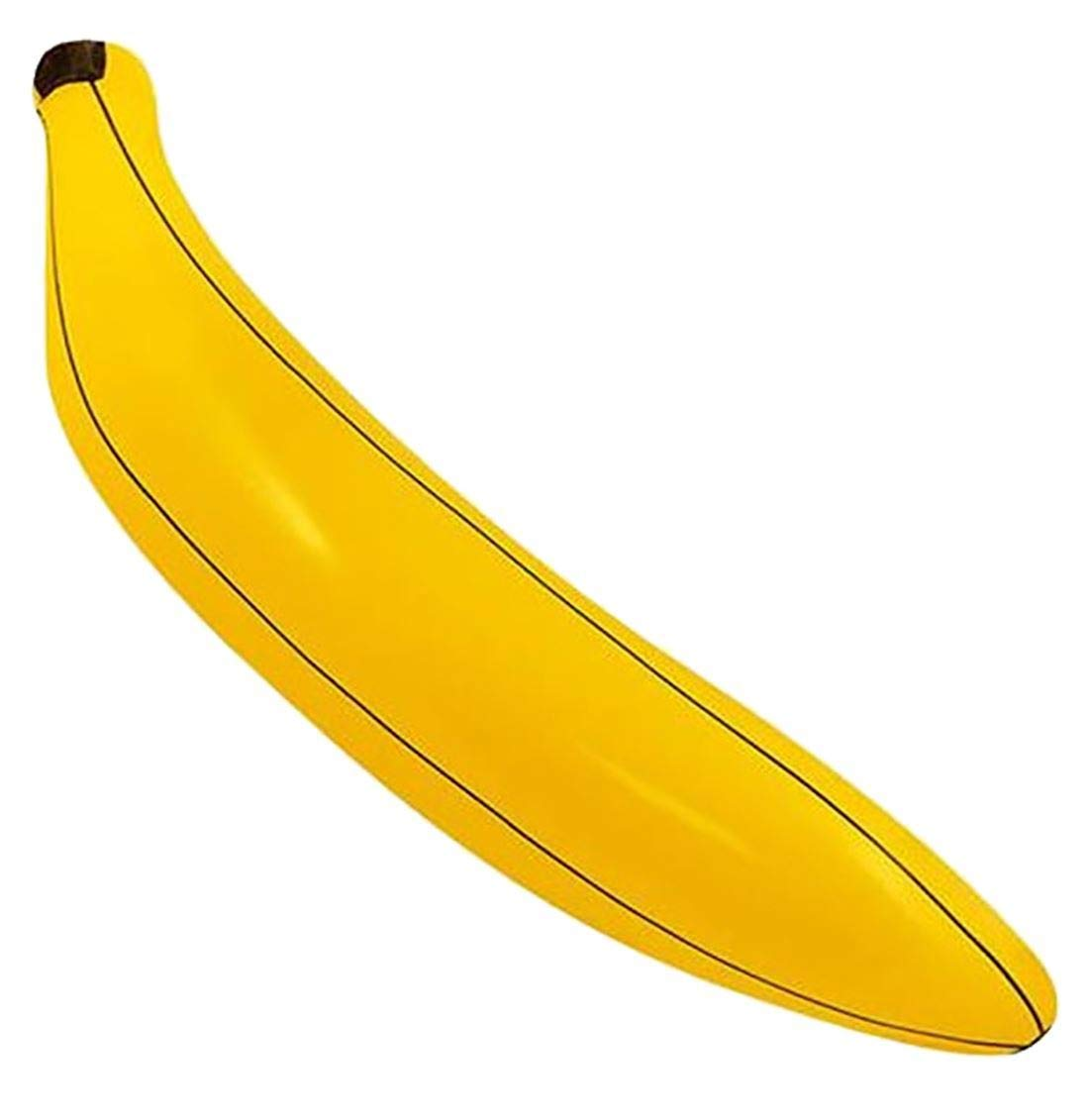 80cm Hinchable Plátano - amarillo y negro, bebés: Amazon.es ...