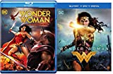 Super Pack Wonder Woman Commemorative Edition blu-ray + DVD + Wonder Woman Gal Gadot Feature Film DC Super Heroes Power Pack Set
