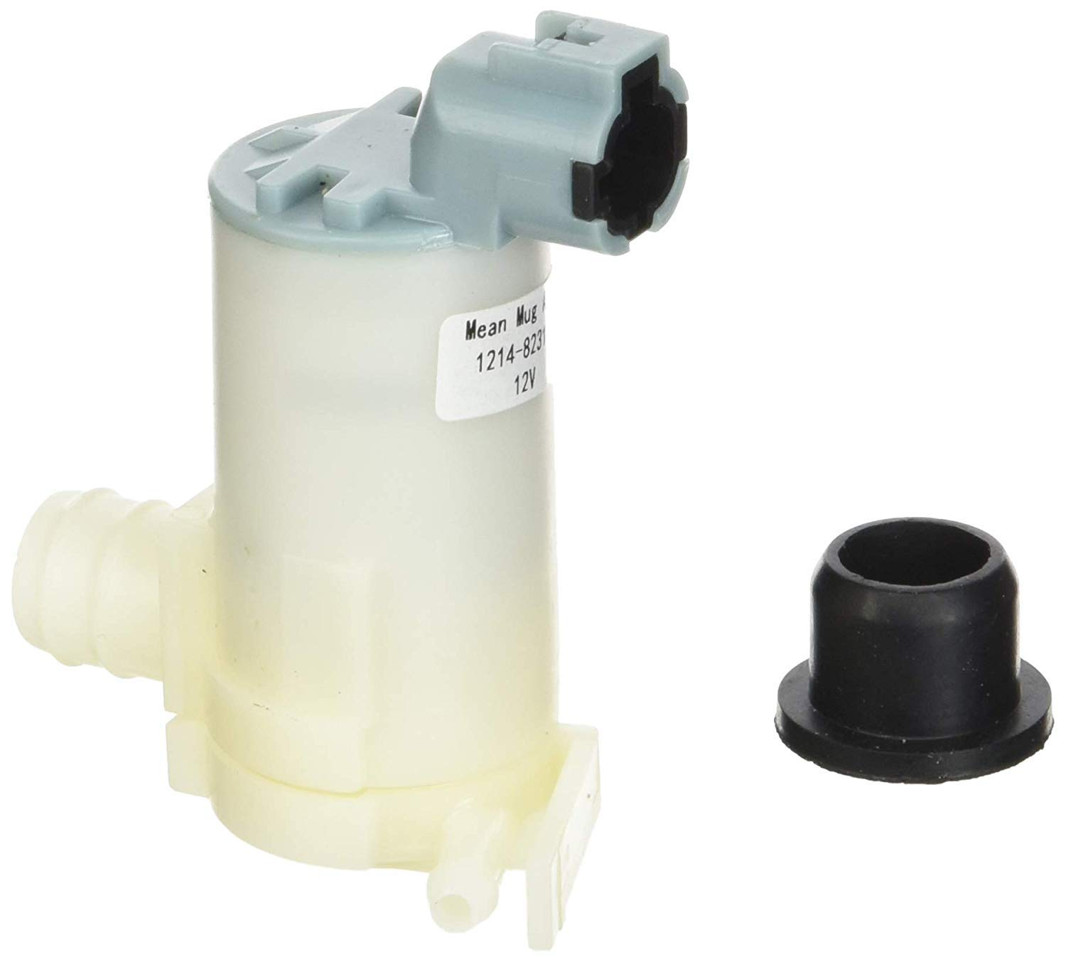 Mean Mug Auto 14919-232316A Windshield Washer Pump w/Grommet - Compatible with Nissan, Infiniti - Replaces OEM #: 289203Z000, 2224620-A, 2224643-A, 6731