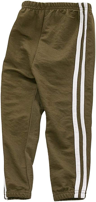 PAUBOLI Pantalones de chándal para bebé activos, ligeros ...