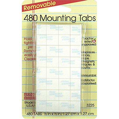 MILLER STUDIO WALL MOUNTING TABS 480 TABS 1/2 (Set of 3)