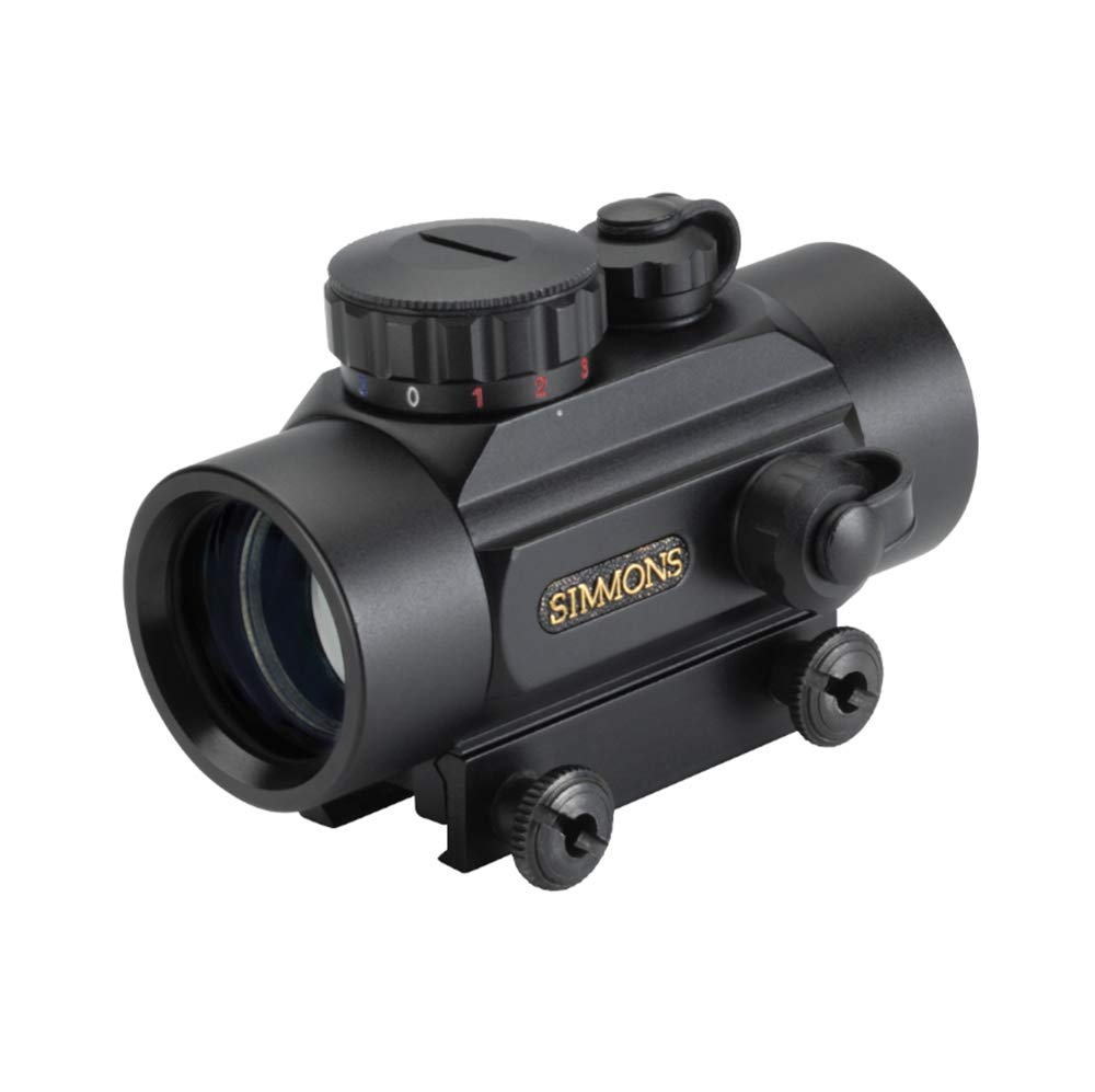 Simmons RedDot 1x 30mm 3-MOA Dot, Red/Green/Blue Illuminated Scope by Simmons