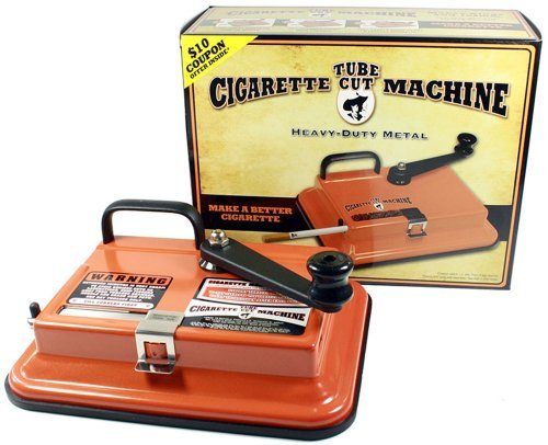 Gambler Tube Cut Tabletop Cigarette Making Machine Injector 100's & King Size by Republic Tobacco LP.