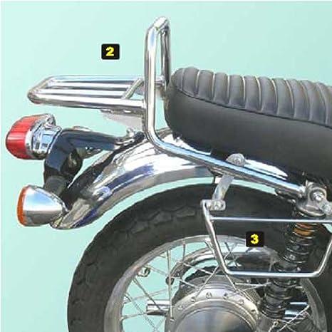 Spaan Portapacchi Per Kawasaki W650 W800 Amazonit Auto E Moto
