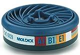 Moldex 9300 Gas filter A1B1E1 for Series 7000+9000 EasyLock 10 pieces