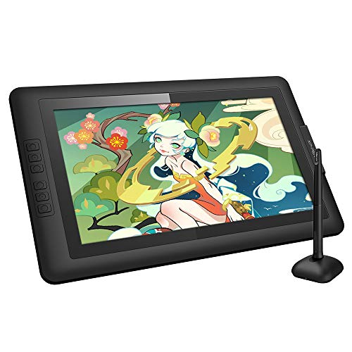 Graphics Drawing Monitor XP-PEN Artist15.6 Pen Display Battery-Free Stylus with 8192 Levels of Pressure