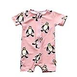 #7: Toddler Boys Girls One Piece Swimsuit Kids Penguin UV Sun Protective Bathing Suit Swimwear Surfing Suit UPF 50+ (1-7T)