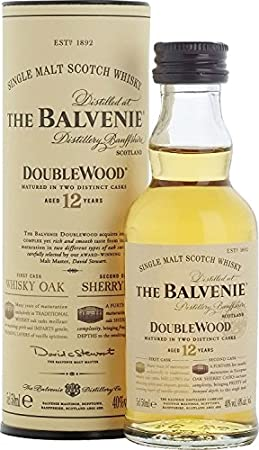 Balvenie Double Wood 12 year old Single Malt Whisky 5cl Miniature