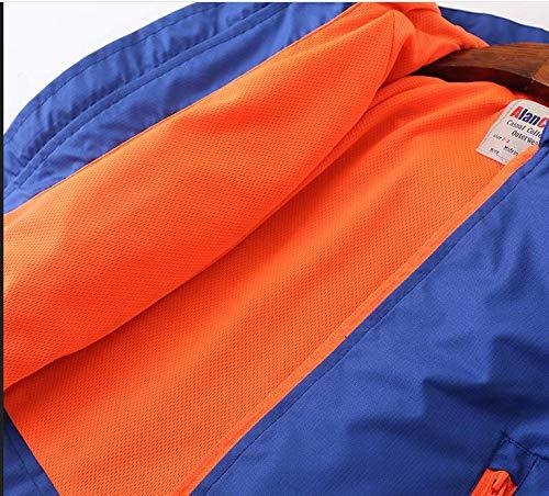 FANTASIEN Boys Waterproof Hooded Jackets Hoodies Rain Jackets Outerwear Windbreaker Pizex for 2-12T Boys