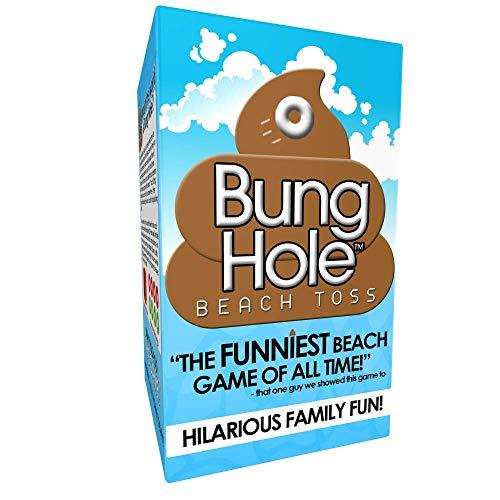 Bung Hole Beach Toss - Cornhole for The Beach! by Bung Hole Beach Toss