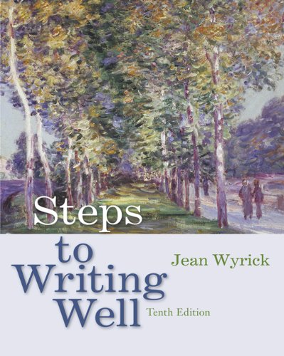 Steps to Writing Well (with 2009 MLA Update Card)