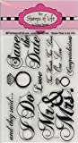 Wedding Stamps for Card-Making and Scrapbooking by The Stamps of Life - Wedding2Celebrate Invitations