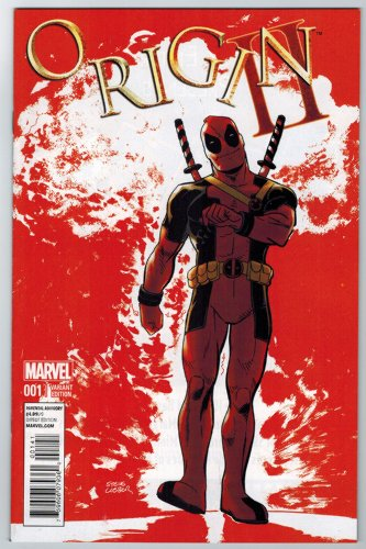 Origins II #1 By Kieron Gillen Deadpool Variant Cover MARVEL COMICS