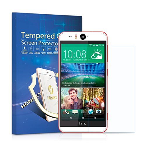 Tempered Glass Clear Screen Protector for Htc Desire Eye - 1