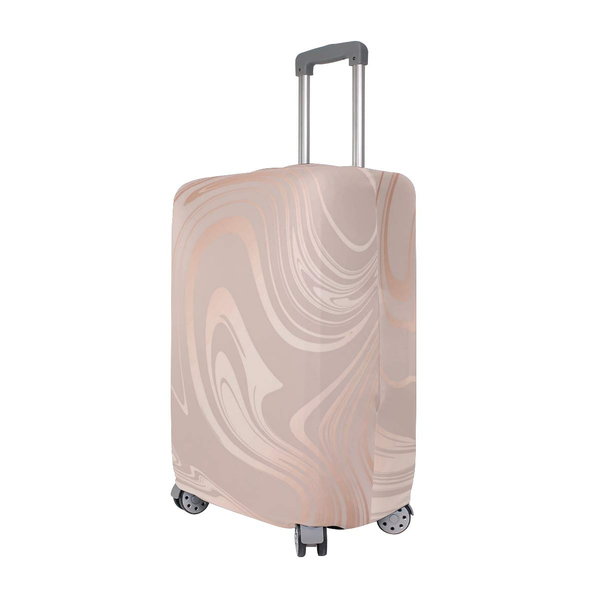 Marble Pattern Of Wallpaper Traveler Lightweight Rotating Luggage Cover Can Carry With You Can Expand Travel Bag Trolley Rolling Luggage Cover