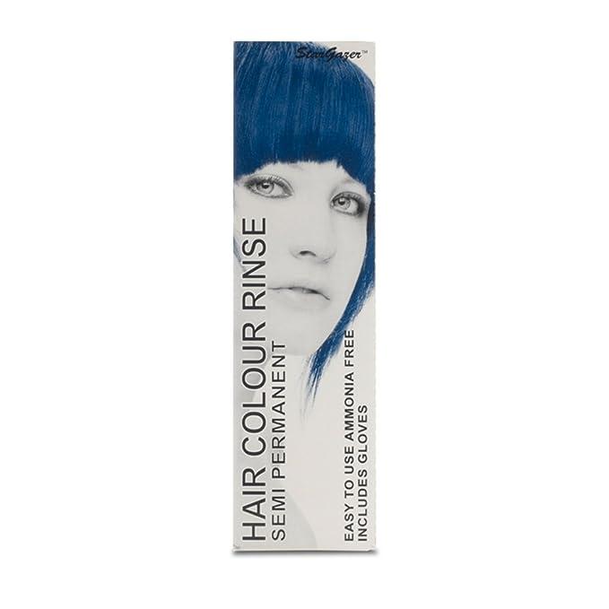 2 x Stargazer Semi Permanent Blue Black Hair Colour Dye