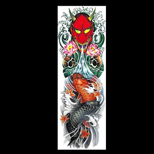 Zhuhuimin 3 Unidades/Juego Creativo Pegatinas de Tatuaje Flor del ...