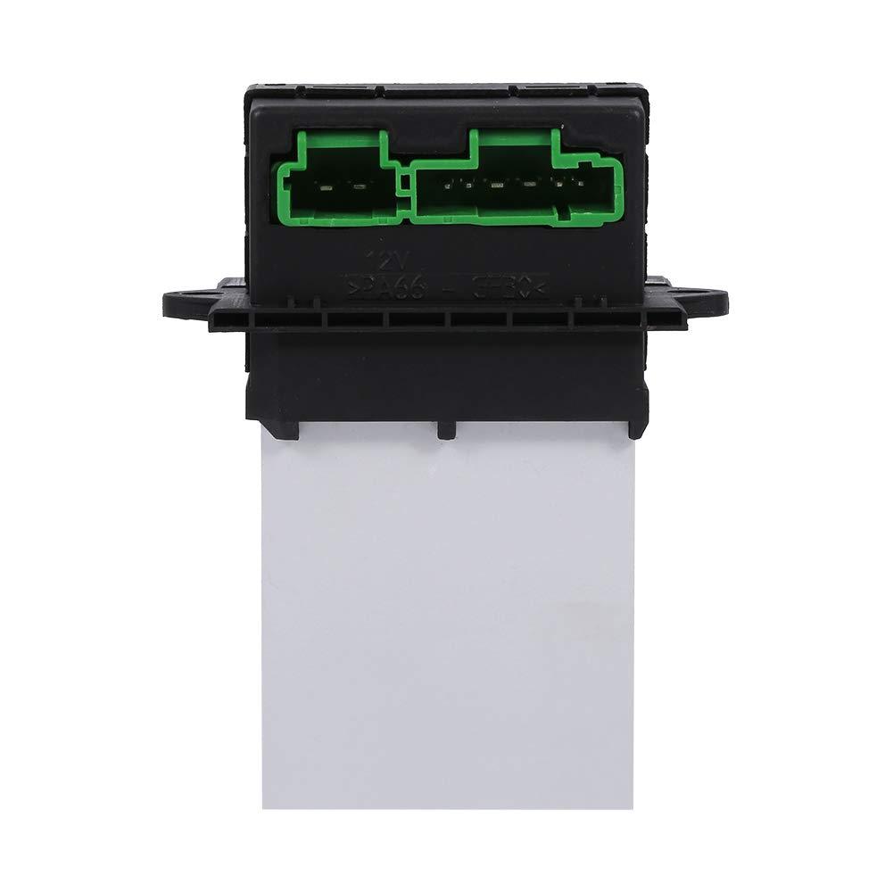 Resistor Aire Acondicionado Soplador Resistor Adecuado para Peugeot 207 607 6441L2